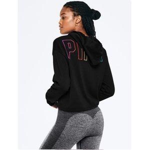 Vs pink rainbow hoodie pullover sweater
